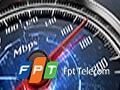 Checking FPT network speed, testing FPT network connection