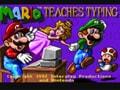 Select mode practice typing 10 fingers in Mario