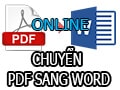 Some ways to convert pdf to word online do not have to use software