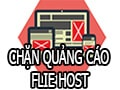 Block web, advertise with host file