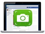 How to take a screenshot of Facebook, save the Facebook interface image on your computer