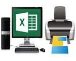 How to print Excel 2010, 2007, 2003, 2013, 2016