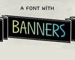 These beautiful font templates make banners for projects and competitions