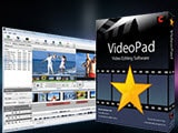 Install VideoPad Video Editor on your computer, create video subtitles