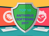 Antivirus software 2017, Top 10 best to use (free and paid)