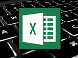 Hide keyboard shortcuts, show column rows in Excel