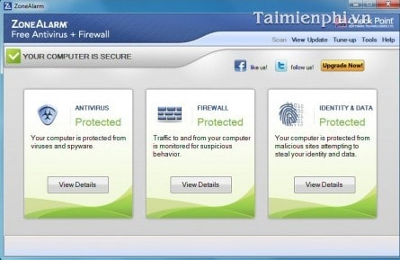 software free zonealarm virus software