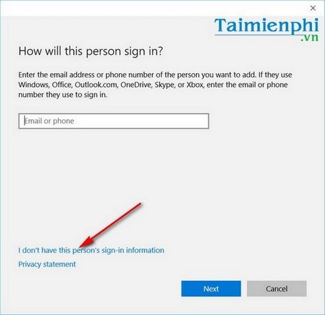 How to create a new user on Windows 10