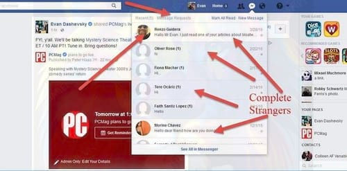 security tips on facebook