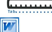 How to format Tab in Word 2010