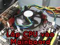 How to install the CPU on the motherboard of the computer