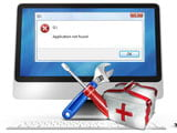 How to fix Application Not Found errors on the computer. Windows laptop