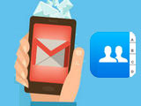 How to view synchronized phone contacts on Gmail