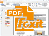 How to view PDf files that are rotated across the screen with Foxit Reader is extremely easy