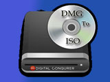 Convert DMG file to ISO with PowerISO on your computer