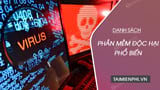 The common malware on the Internet
