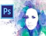 How to create a Watercolor effect for a photo in Photoshop