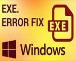 How to fix a failure to open the .exe file due to virus attack