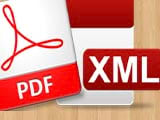 How to convert XML files to PDF without software, online transfer