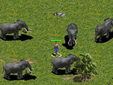 How to hook elephants in the AOE Empire