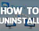 How to uninstall TeamViewer on the computer