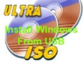 Instructions for creating USB install Windows 10, 8.1, 7 using UltraISO