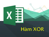 The XOR function in Excel returns the Exclusive Of logic function of the arguments