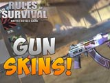 How to earn more clothes and skins in Rules of Survival