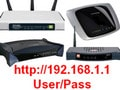 Log in to your Wifi modem, IP, account and password to access popular modem lines