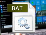 How to create and use BAT files on Windows computers