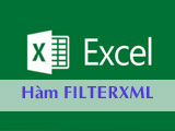 The FILTERXML function in Excel, returns the specified data from the XML content