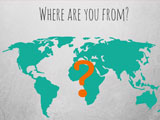 How to ask where you are from in English