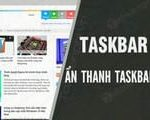 How to automatically hide the Taskbar when maximizing the screen