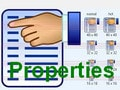 How to change the properties of files and files