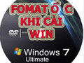 How to format drive C, delete drive data C when reinstalling Win
