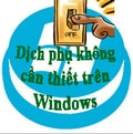 Turn off unnecessary services in Windows XP / 7 / 8.1