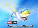 Instructions for dividing the hard drive with MiniTool Partition Wizard