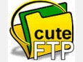 CuteFTP - Software to upload data to the host
