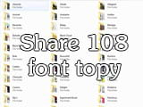 Share 108 fonts for beautiful typography design
