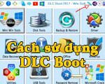 How to use DLC Boot, repair and rescue computer software