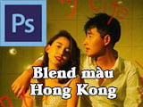 How to Blend Hong Kong colors using Photoshop