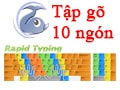 Practice typing with 10 fingers using Portable RapidTyping, practice typing quickly