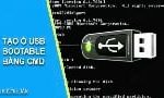How to create a USB Bootable drive with CMD