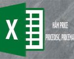 PRICE, PRICEDISC, PRICEMAT function in Excel