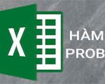 PROB function in Excel
