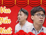 Drama King of acting, Trung Ruoi