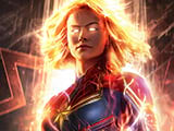 Captain Marvel background image for computer, FULL HD