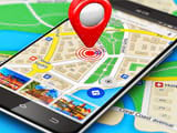 Check for traffic jams on Google Maps