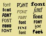 Add beautiful, artistic fonts to Powerpoint files