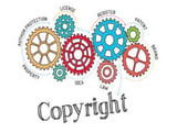 Guide stamp Video copyright with Logo
